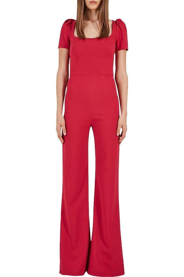 Rebecca Vallance Poppy Jumpsuit in Barberry