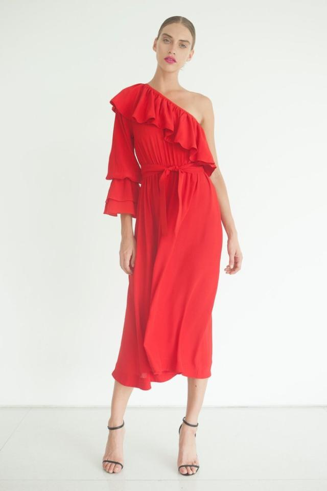 S/W/F Briony Dress in Red