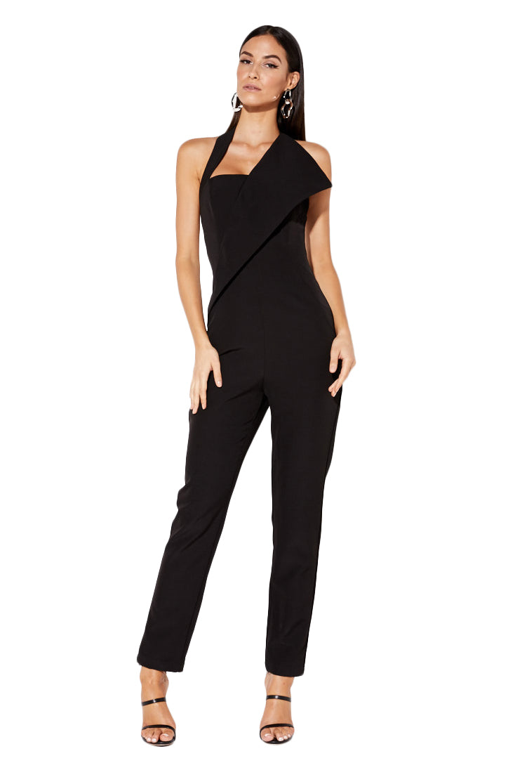 Mossman Standing Ovation Jumpsuit in Black