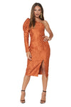 Mossman The Tea Leaves Dress in Cognac