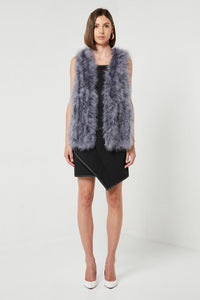 Elliatt Donatella Vest in Ash