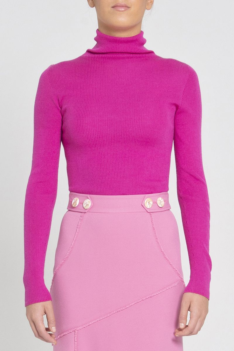 Rebecca Vallance Lana Knit in Magenta