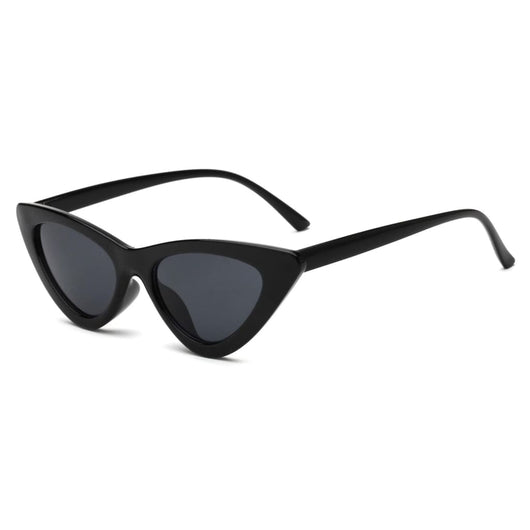 Cool Retro Cat Eye Sunglasses - Havana86
