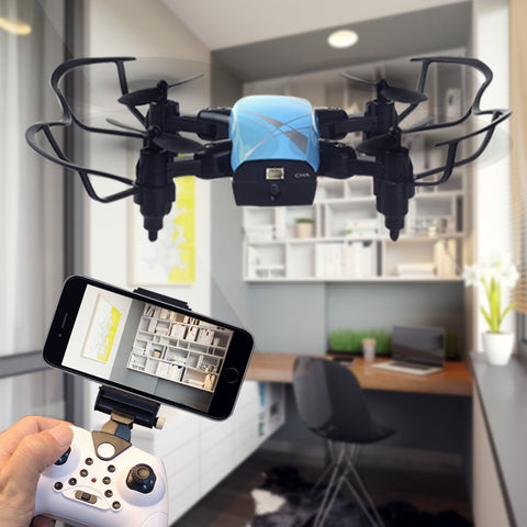 S9W Foldable RC Mini Pocket Drone HD Camera