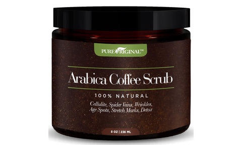 Pure Original Organic Arabica Coffee Scrub (8.8 oz)