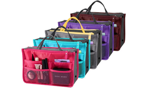 Portable Cosmetics and Toiletry Organizer