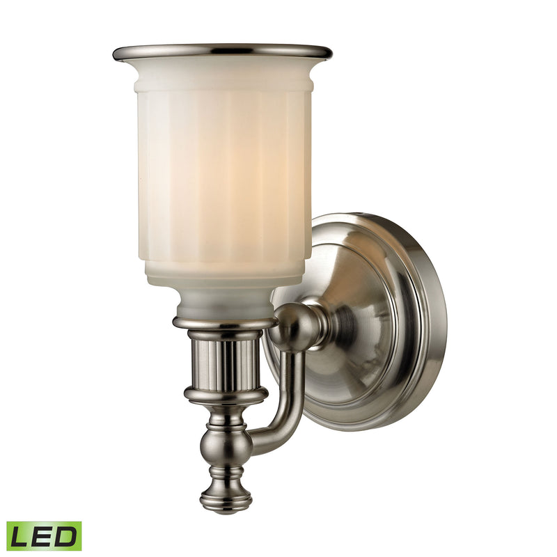 Acadia 1 Light LED Vanity In Brushed Nickel - Brushed Nickel