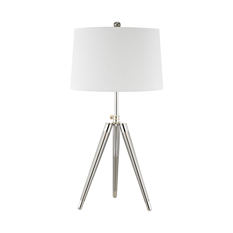 Academy Table Lamp - Polished Chrome