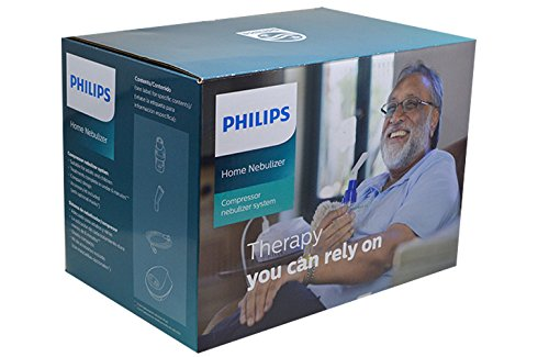 Philips Home Nebulizer with SideStream Disposable Kit (White)