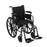 Cruiser III Light Weight Wheelchair with Flip Back Removable Arms, Adjustable Height Desk Arms, Swing away Footrests, 20""