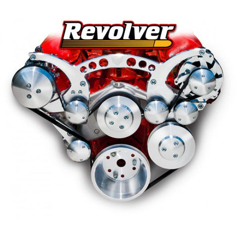 March Performance Chevy Big Block 348 409 cubic inch Revolver Serpentine Kit