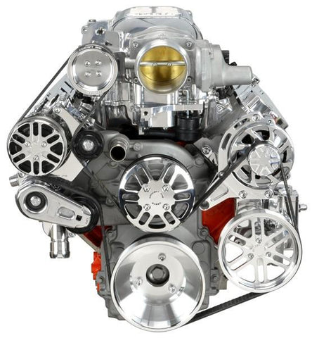 Concept One Chevy LS Serpentine Kit for Whipple Supercharger