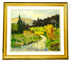 Canadian Lincoln Godfrey Morris Painting