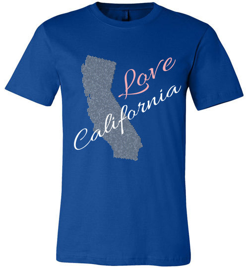 Love California Shirt - Unisex - True Royal