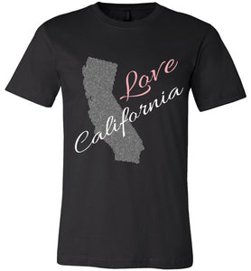 Love California Shirt - Unisex - Black