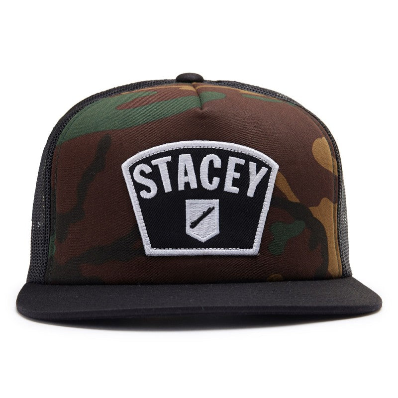 Stacey Big Patch Trucker - Camo