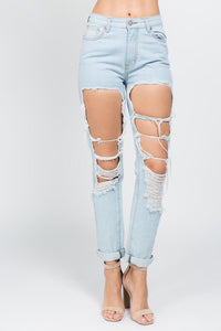 Elyse - Boyfriend Fit Denim Jeans