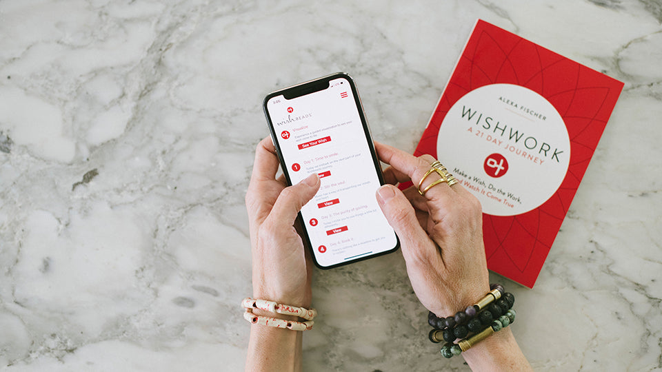 Do the Wishwork with the Wishbeads APP