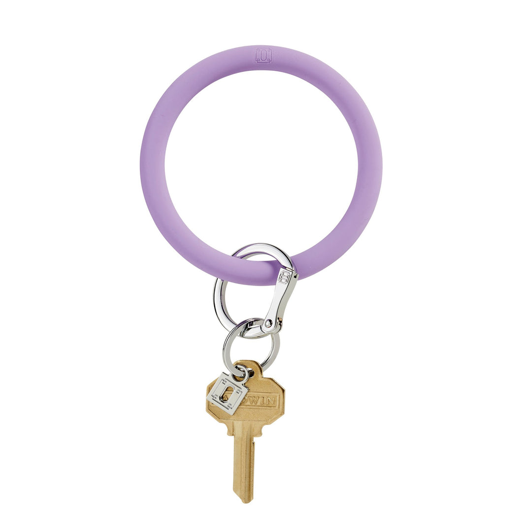 Light Purple Oventure Big O Key Ring