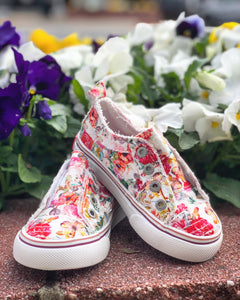 Blowfish Flowerfest Sneakers for Girls
