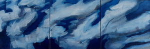 """Cloud Reflections # 5"" By Jamie Ballay, Oil on Canvas"