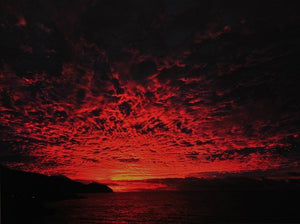 Red Sky by Don Leiblein