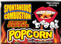 Spontaneous Combustion Microwave Ghost Pepper Popcorn
