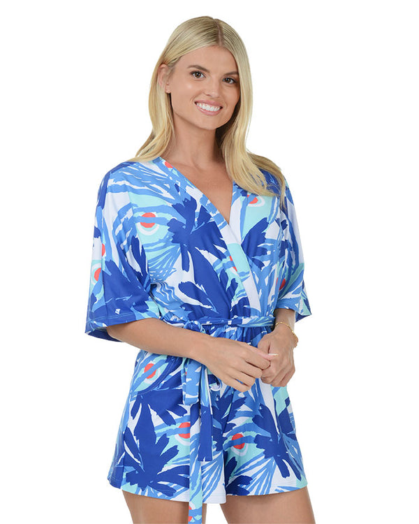 Grace Bay Short Sleeve Romper