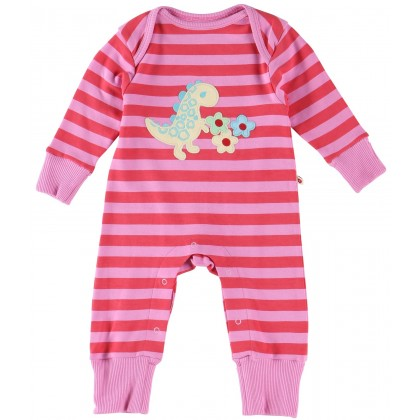 Piccalilly Dinosaur Applique Playsuit