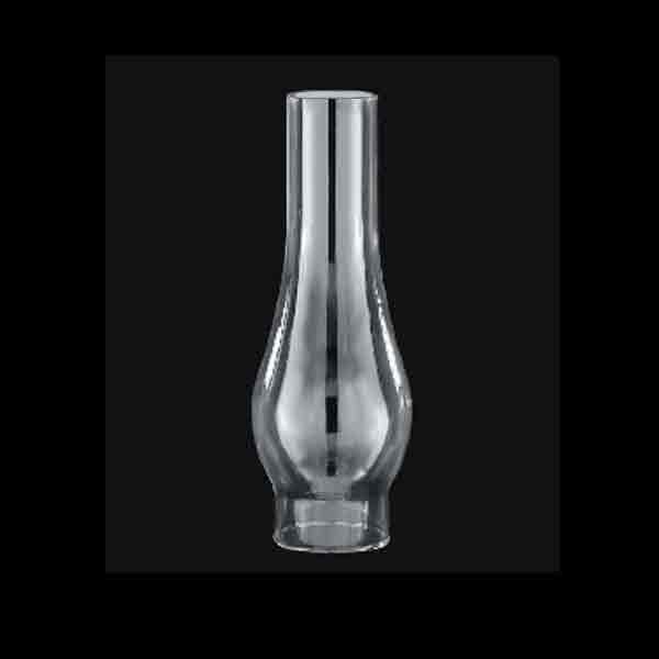 Lamp Chimney, clear glass, 2-5/8 x 10