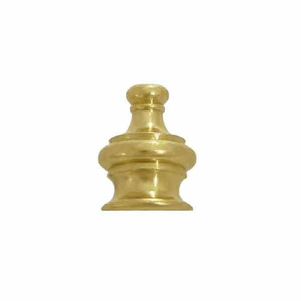 Crown Lamp Finials, 1/8IP - paxton hardware ltd
