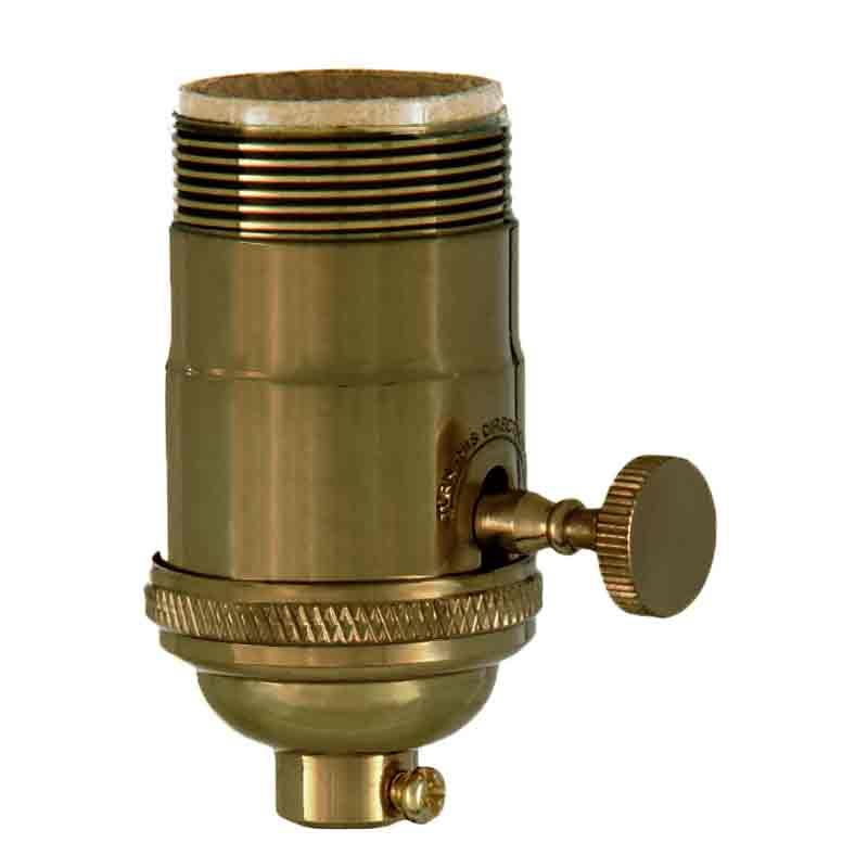 Premium Brass Lamp Sockets with antique finish