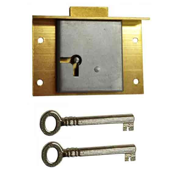 Drawer Locks, Backset 1 inch - paxton hardware ltd