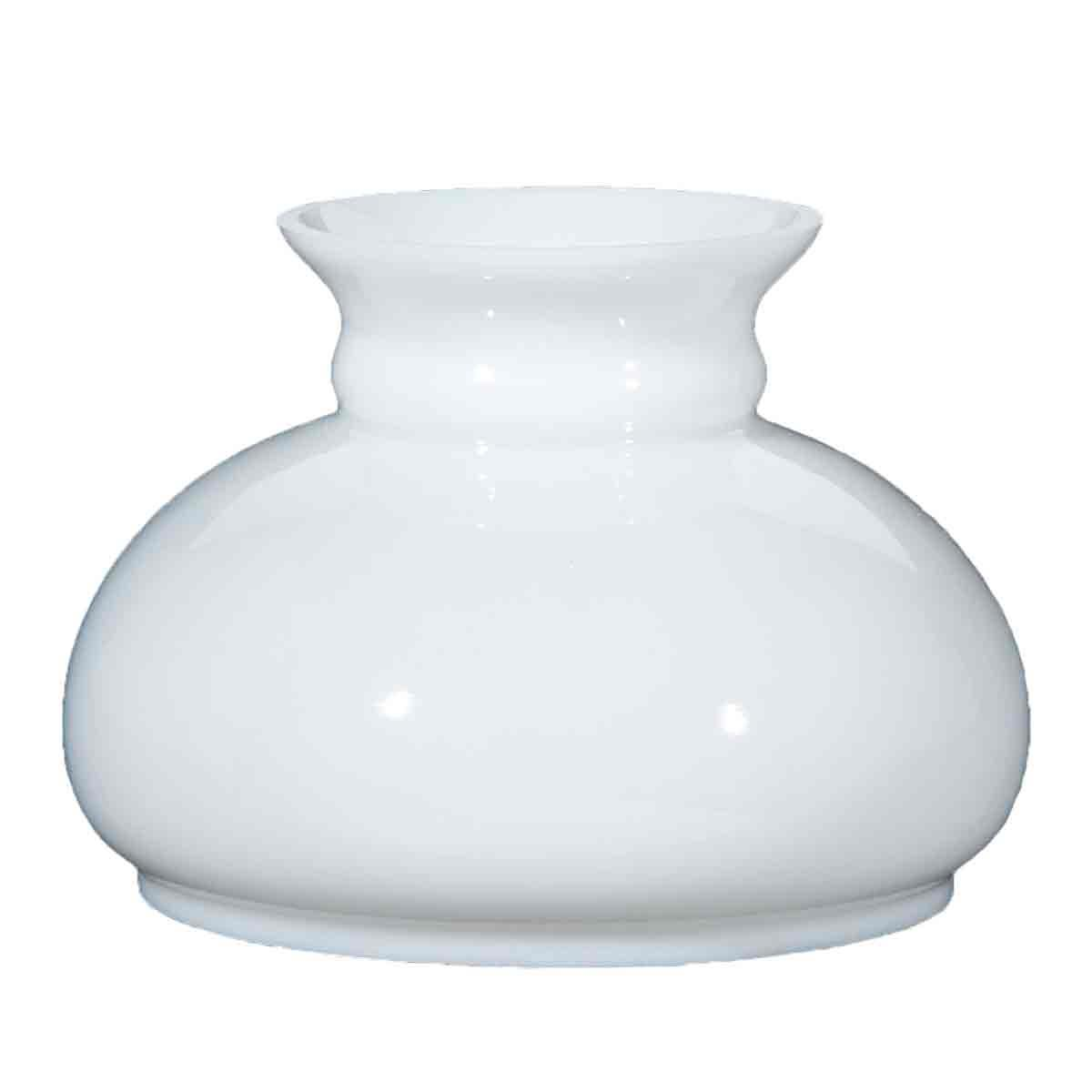 "Classic White Student Lamp Shades, 7"" base"