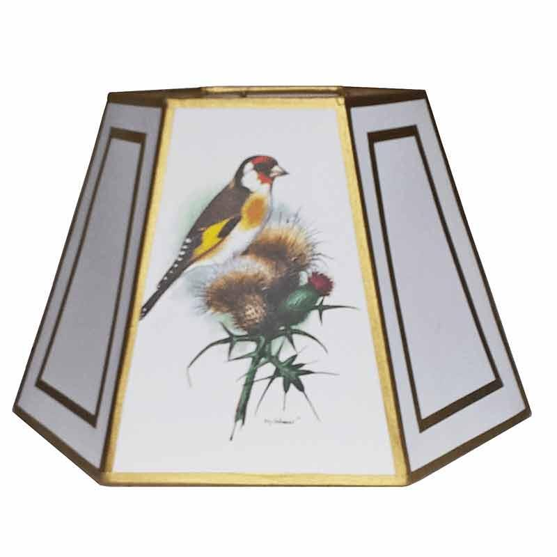 Song Bird Lamp Shades for floor lamps with special uno threaded sockets