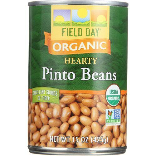 Field Day Beans - Organic - Pinto - 15 oz - case of 12