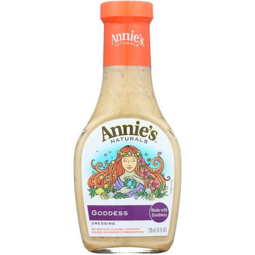 Annie's Naturals Dressing Goddess - Case of 6 - 8 fl oz. - Vitamins Pros