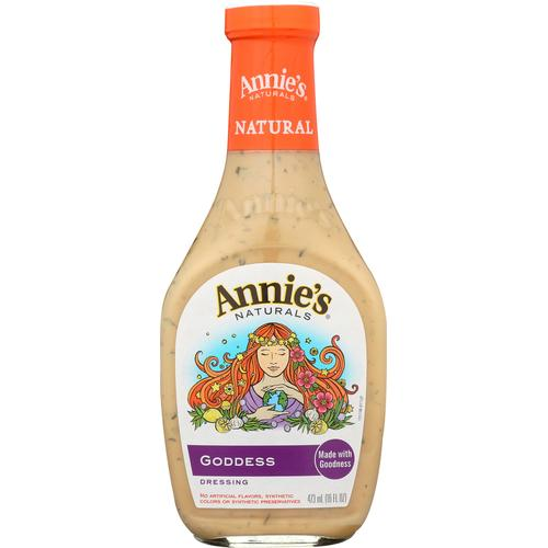 Annie's Naturals Dressing Goddess - Case of 6 - 16 fl oz.