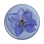 Pressed Flower Larkspur Purple, PopSockets