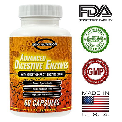 Advanced Digestive Enzymes with Makzyme-PRO