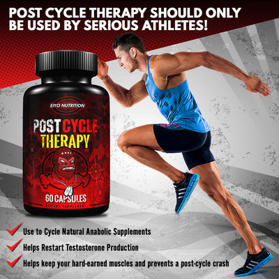 Post Cycle Therapy (All Natural) - PCT Workout Supplement - Eiyo Nutrition