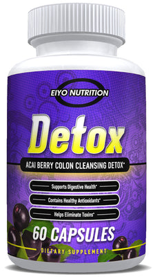 DETOX - Acai Berry Colon Cleansing Detox - Eiyo Nutrition