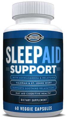 Sleep Aid Support (All Natural) - with Melatonin & Ashwagandha - Eiyo Nutrition