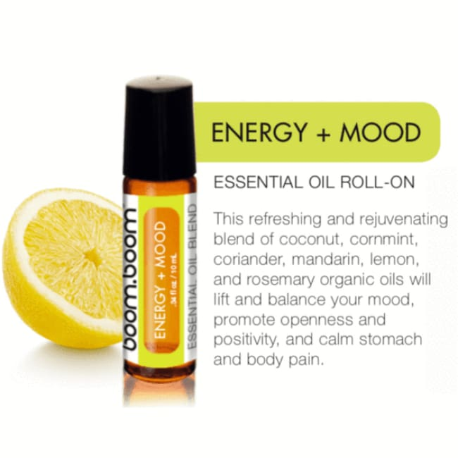 Energy + Mood Roller - Essential Oil Roller