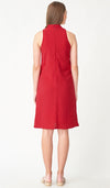 KELLER CHEONGSAM NURSING DRESS RED