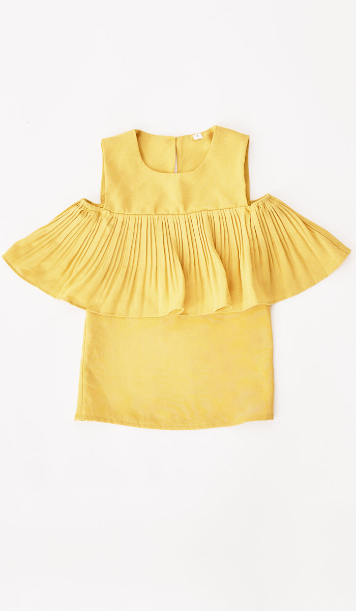 LYLA MINI DRESS YELLOW