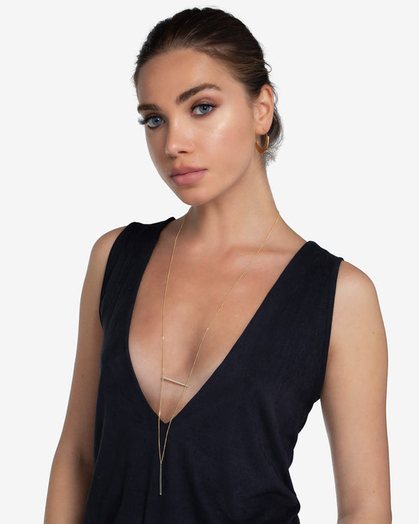 Lexi Bar Long Necklace