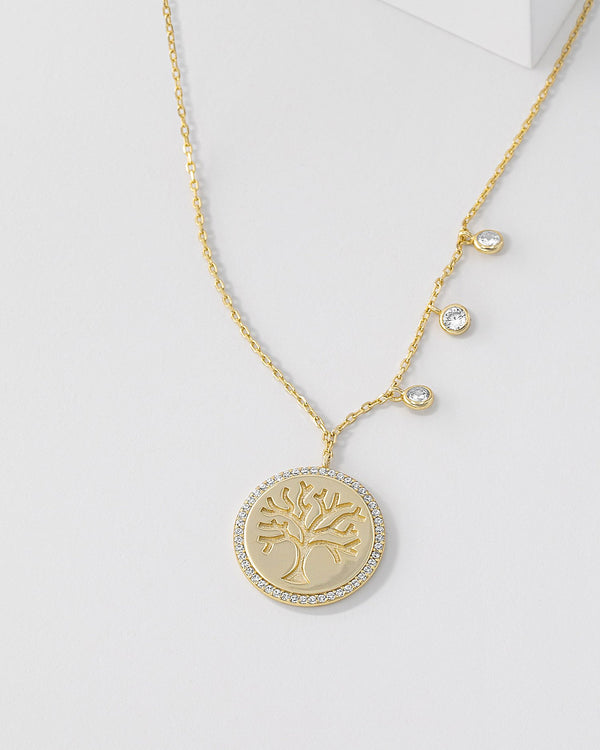 Daphne Tree of Life Necklace