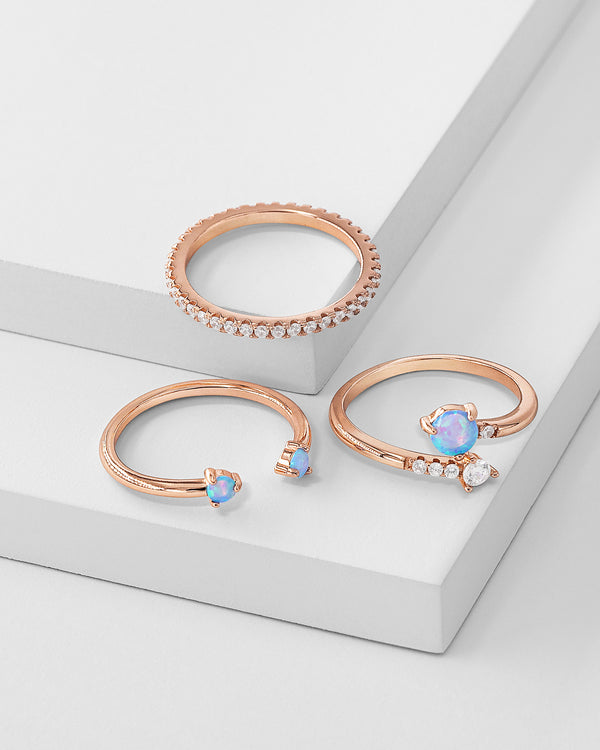 Evelyn Stackable Ring Set