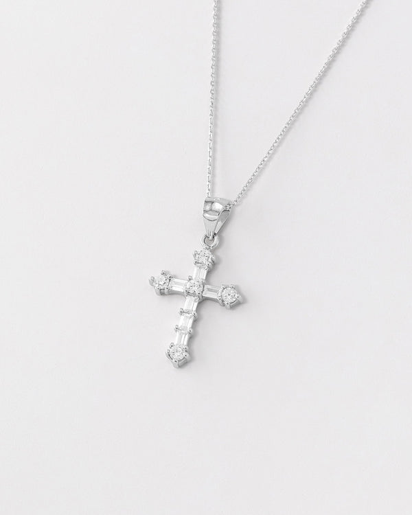 Arielle Cross Necklace